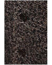 BOSS Orange | Brown Short Coat 'barrets' In Salt-and-pepper Look for Men | Lyst