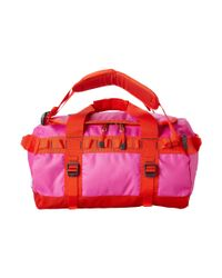 The North Face Pink Base Camp Duffel Small