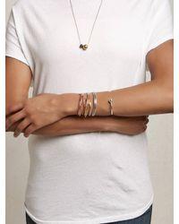Another Feather | Metallic Crest Cuff - Bronze | Lyst