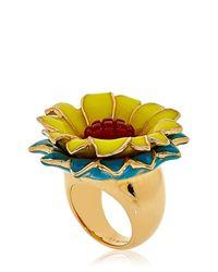 Isharya Metallic Modern Maarani Ring