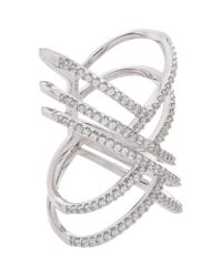 Carat* | Metallic Trista Ring | Lyst
