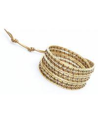 Nakamol | Metallic Jokin Wrap Bracelet-Gold | Lyst