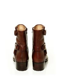 Moda In Pelle Brown Fontana Low Casual Short Boots