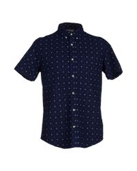 Deus Ex Machina - Blue Shirt for Men - Lyst