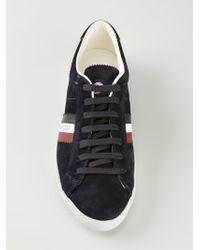 Moncler   Blue Monaco Sneakers for Men   Lyst
