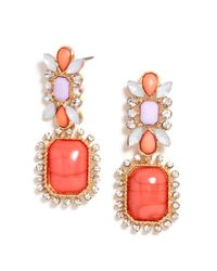 BaubleBar | Orange Bonnie Drops | Lyst