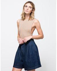 Which We Want | Brown Kitt Bodysuit | Lyst