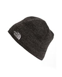 The North Face | Gray 'jim' Beanie for Men | Lyst
