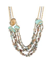 Alexis Bittar | Blue Imperial Jasmine Multi Strand Bib Necklace You Might Also Like | Lyst