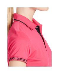 Ralph Lauren Golf - Black Tailored Golf-fit Polo - Lyst