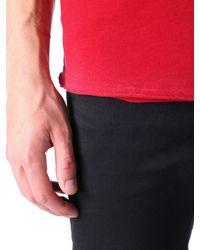 DIESEL - Red T-mirey for Men - Lyst