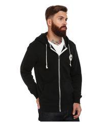 Converse | Black Core Full Zip Hoodie for Men | Lyst