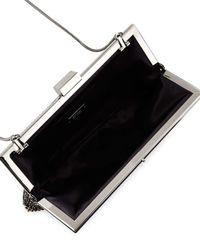 Badgley Mischka - Black Saffron Crystal Evening Clutch Bag - Lyst