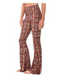 Onzie - Brown Flare Pants - Lyst