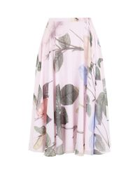 Ted Baker Multicolor Distinguishing Rose Skirt