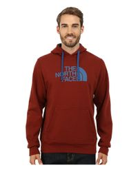 The North Face | Red Half Dome Hoodie for Men | Lyst
