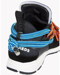DSquared²   Black Bungy Jump Sneakers   Lyst