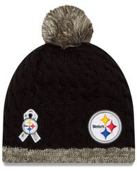 huge selection of 1765e 89cdd Lyst - KTZ Women's Pittsburgh Steelers Salute To Service ...