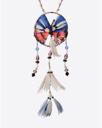 Valentino | Multicolor Dream Catcher Necklace | Lyst