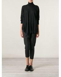 Stella McCartney Black Asymmetric Sweater
