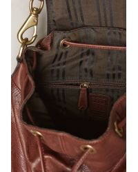 Frye - Brown Jenny Convertible Leather Backpack for Men - Lyst