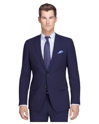 Brooks Brothers - Blue Fitzgerald Fit Navy Mini Bead Stripe Brookscool® Suit for Men - Lyst