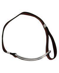 Gilbert Gilbert | Natural Boucle Khaki Bracelet for Men | Lyst