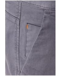 BOSS Orange | Gray Tapered-fit Chinos In Cotton Blend: 'sandrew1-d' for Men | Lyst