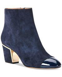 Calvin Klein | Blue Women's Kristi Booties | Lyst