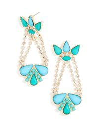 BaubleBar | Metallic Acid Palm Drops | Lyst