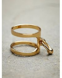 Maniamania | Metallic Luminary Ring | Lyst