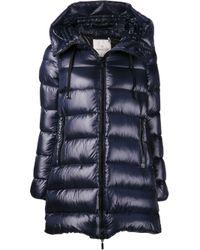Moncler Blue Suyen Padded Jacket