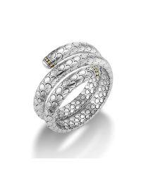 John Hardy - Metallic Double Coil Bracelet - Lyst