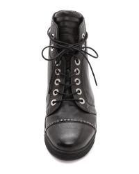 Stuart Weitzman Zipit High Top Sneakers Black