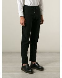 Vivienne Westwood - Black Trim Detail Track Pants for Men - Lyst
