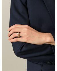 Chloé   Metallic 'darcey Fine' Ring   Lyst