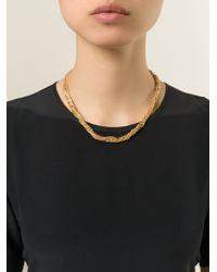 Puro Iosselliani   Metallic Tangled Necklace   Lyst