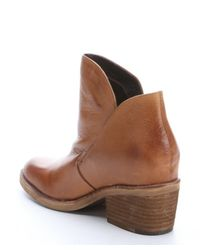 Dolce Vita - Brown Tan Leather 'Teague' Cowboy Ankle Booties - Lyst
