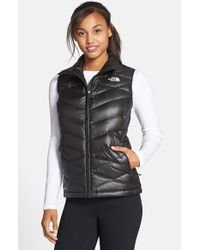 The North Face Black 'aconcagua' Down Vest