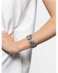 BaubleBar   Metallic Teardrop Frost Stretch Bracelet   Lyst