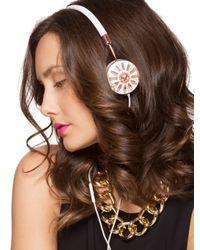 BaubleBar - Pink Rose Gold Frends X Layla Headphones - Lyst