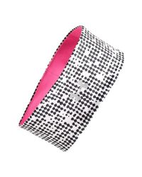 Under Armour | Pink 'layered Up' Reversible Headband | Lyst