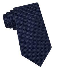 MICHAEL Michael Kors   Black Textured Silk Tie for Men   Lyst
