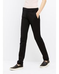 Vince - Black Slim Trouser - Lyst