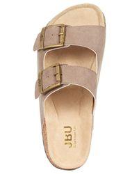 Jambu Brown Jbu Women'S Ellen Footbed Sandals