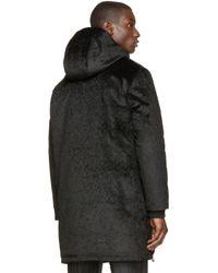 Wanda Nylon | Black Faux_fur Afif Parka for Men | Lyst