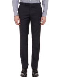 Ralph Lauren Black Label - Blue Pindot Twobutton Suit for Men - Lyst