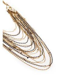 Erickson Beamon | Metallic Grapes Of Wrath' Glass Pearl Multi Chain Necklace | Lyst