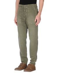 People Green (+) People Casual Trouser for men