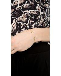 Tai - Metallic Duel Crystal Bangle Bracelet - Lyst